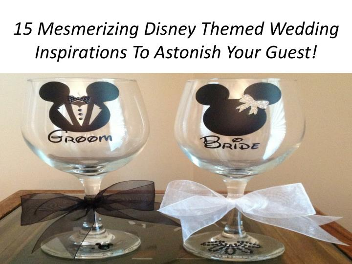 15 mesmerizing disney themed wedding inspirations to astonish your guest n.