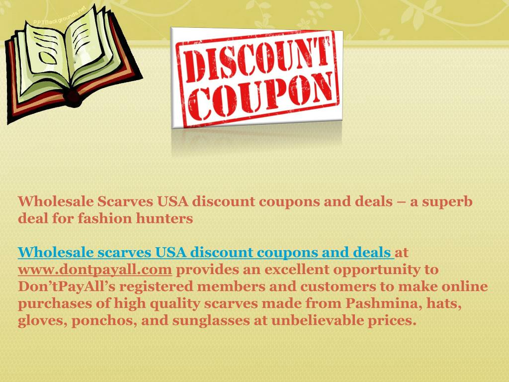 coupon opportunity a discount buy discount