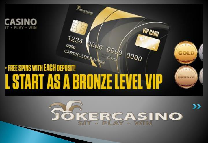 Mobilkasino casino bonus joker