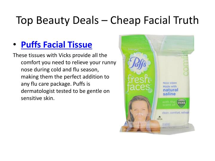 Top Beauty Deals – Cheap Facial Truth