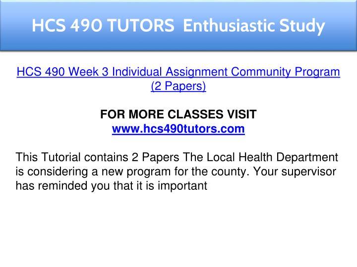 hcs week 3 individual powerpoint Hcs 451 week 3 individual assignment hcs week 3 individual powerpoint essay week 3 individual assignments acc/400 chapter 10 1.