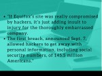 if equifax s site was really compromised