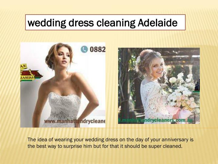 Ppt best curtain cleaning service adelaide powerpoint for Do dry cleaners steam wedding dresses