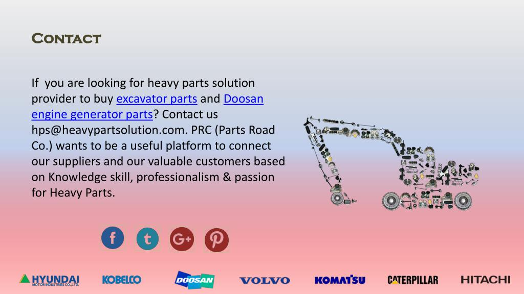 PPT - Simplify your Ground works with Excavator Parts Solution