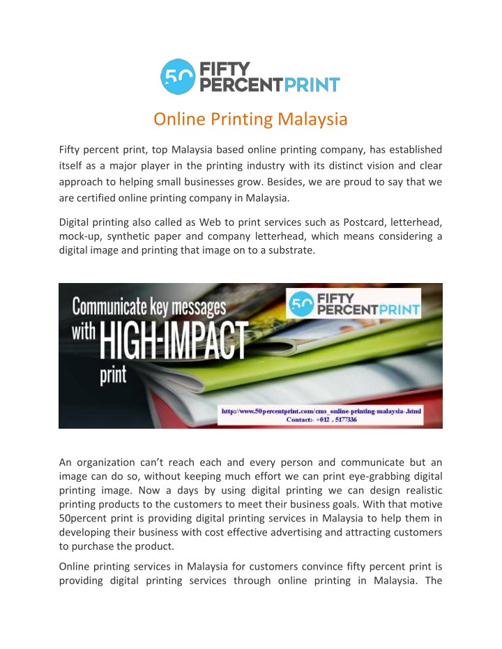 online printing malaysia n.