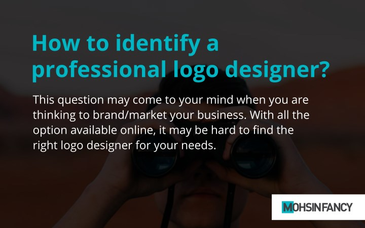 how to identify a professional logo designer n.