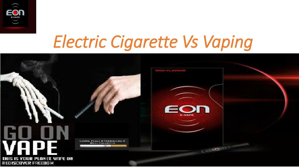 PPT - Difference between Electronics Cigarette and Vaping
