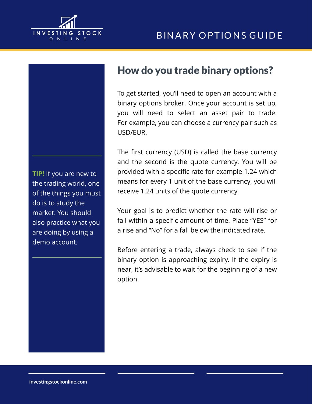 PPT - How to Easily Start Making Money Trading Binary Options