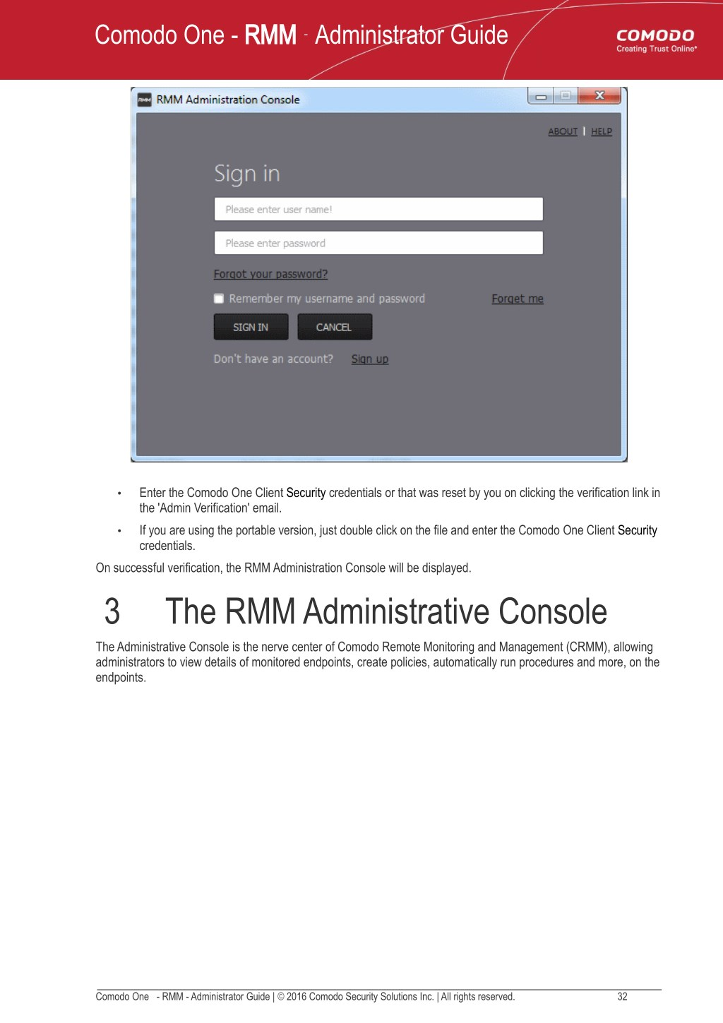 PPT - RMM Administrator Guide - Comodo One PowerPoint