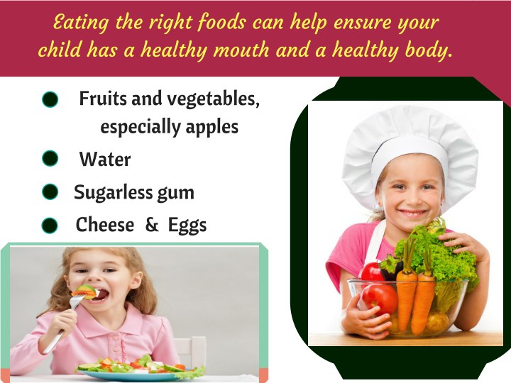 eating the right food