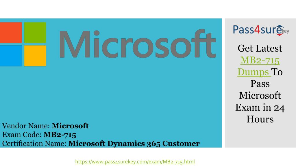 Ppt Latest Microsoft Mb2 715 Question Answers Dynamics 365