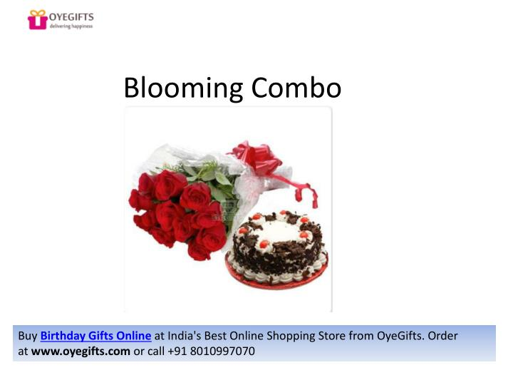 Blooming Combo Buy Birthday Gifts Online