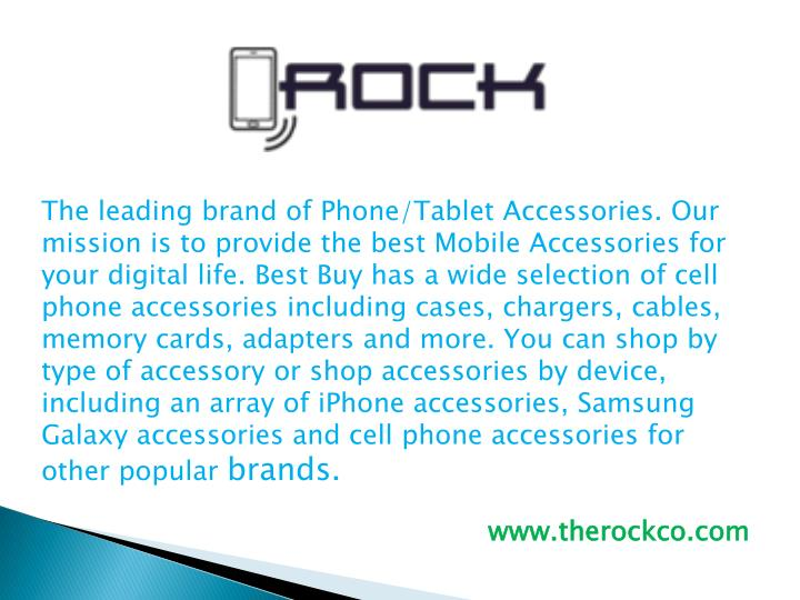 the leading brand of phone tablet accessories n.