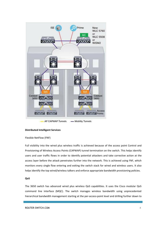 PPT - CISCO CATALYST 3650 SERIES SWITCH DATASHEET PowerPoint