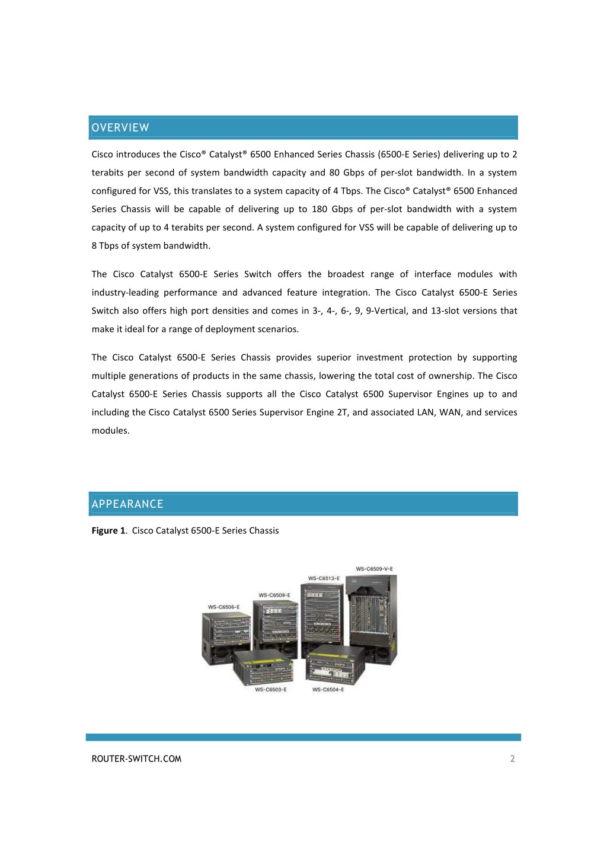 PPT - CISCO CATALYST 6500 SERIES SWITCH DATASHEET PowerPoint