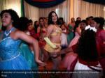 a member of musical group xolo batucada dances