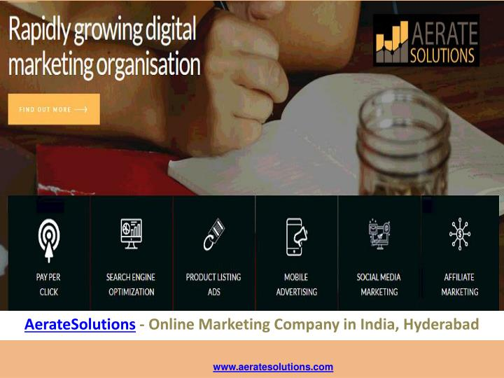 aeratesolutions online marketing company in india hyderabad n.