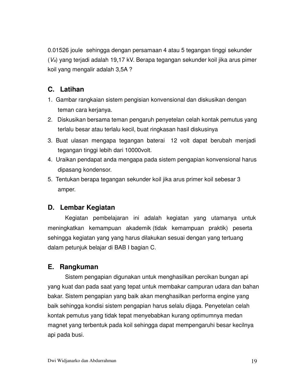 Ppt Pengapian Dan Pengisian Powerpoint Presentation Id 7724414