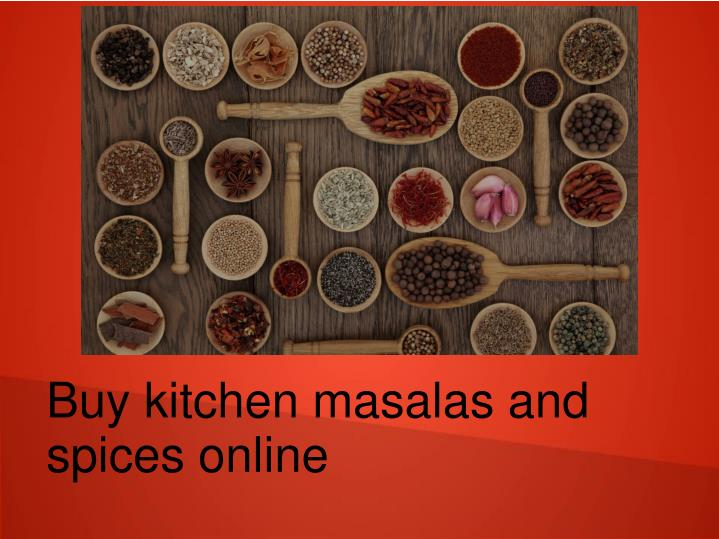 buy kitchen masalas and spices online n.
