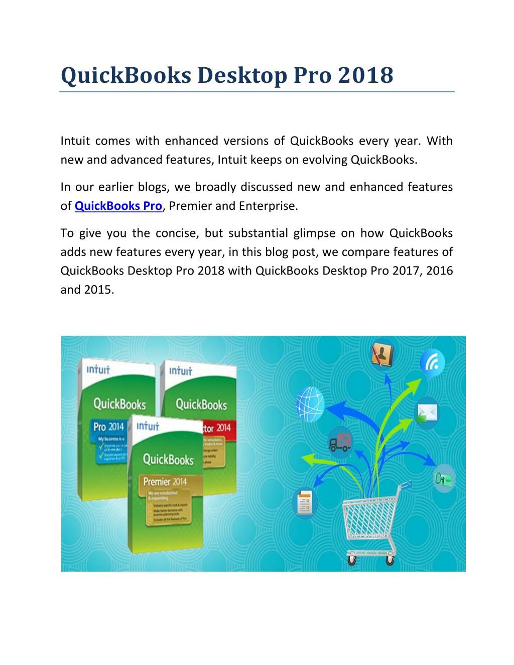 Ppt Quickbooks Desktop Pro 2018 Powerpoint Presentation Id 7725255