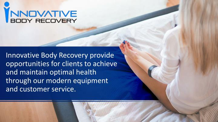 innovative body recovery provide opportunities n.