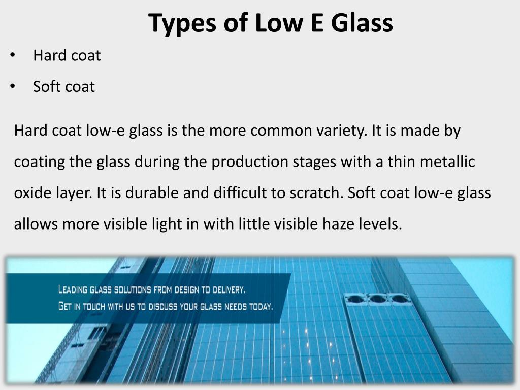 PPT - Low E Glass PowerPoint Presentation - ID:7726060