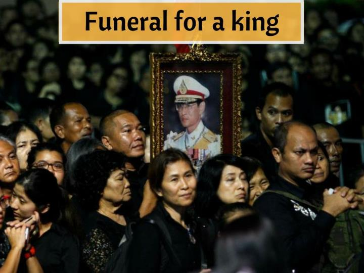 funeral for a king n.