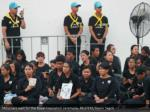 mourners wait for the royal cremation ceremony