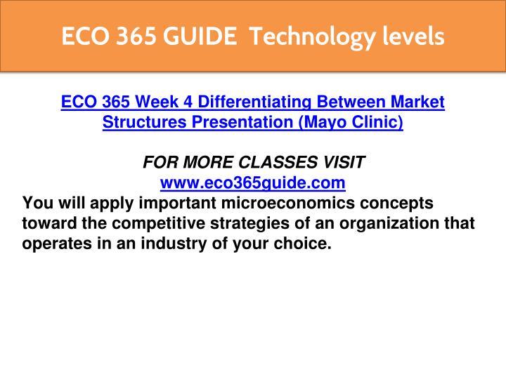 week 4 differentiating between market structures