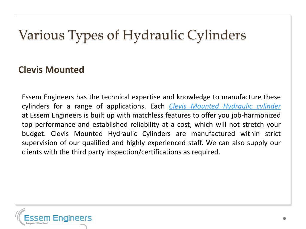 PPT - Best Hydraulic Cylinders Manufacturer in Delhi
