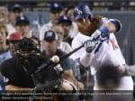 dodgers third baseman justin turner hits