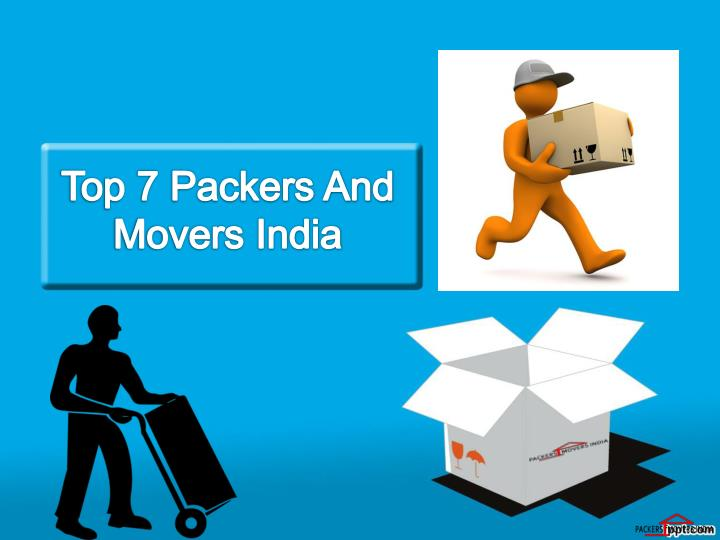 top 7 packers and movers india n.