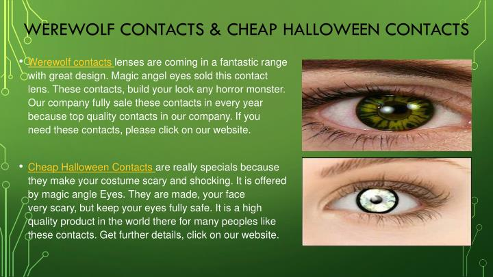 werewolf contacts cheap halloween contacts