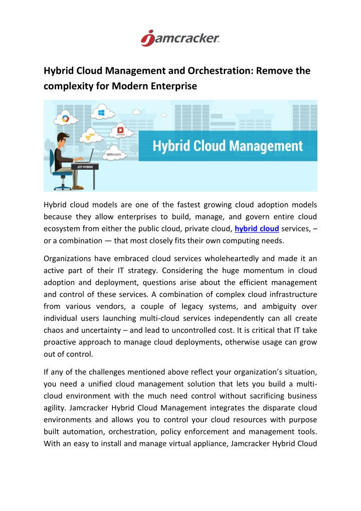 hybrid cloud management and orchestration remove n.