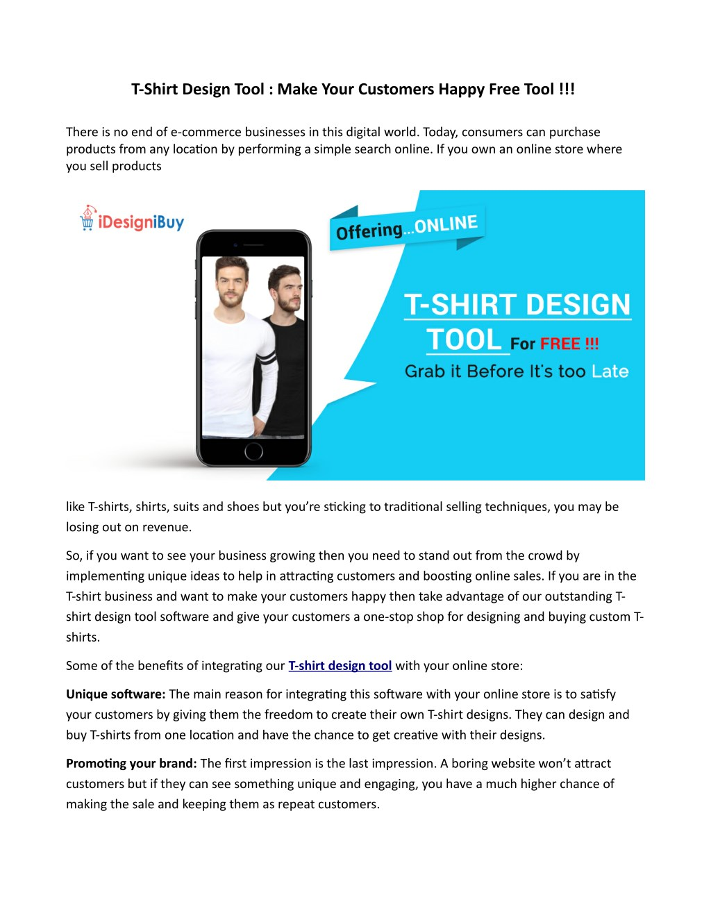 Ppt T Shirt Design Tool Make Your Customers Happy Free Tool Powerpoint Presentation Id 7728000