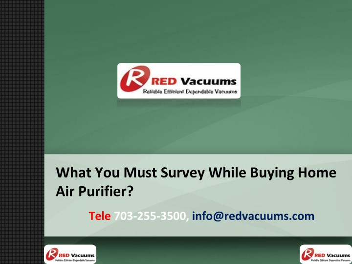 what you must survey while buying home n.