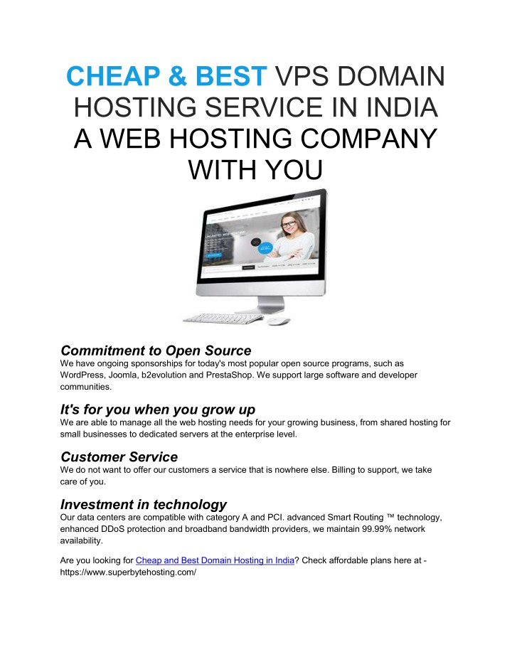 cheap best vps domain hosting service in india n.