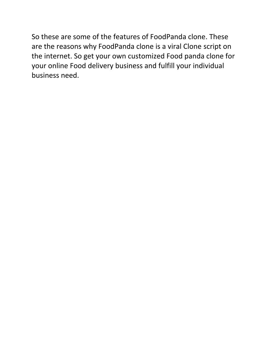 PPT - Foodpanda clone PowerPoint Presentation - ID:7728626