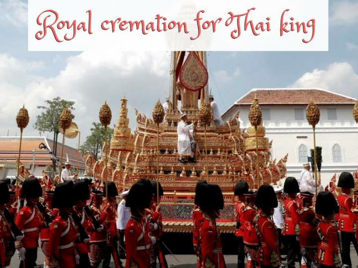 royal cremation for thai king n.