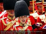 royal guards take part in the royal cremation