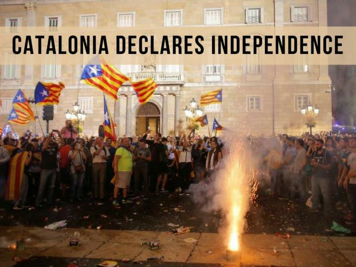 catalonia declares independence n.
