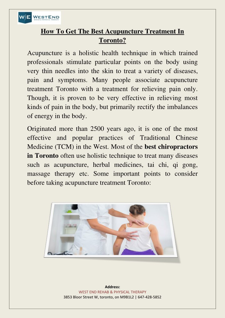 how to get the best acupuncture treatment n.