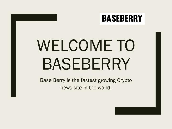 welcome to baseberry n.