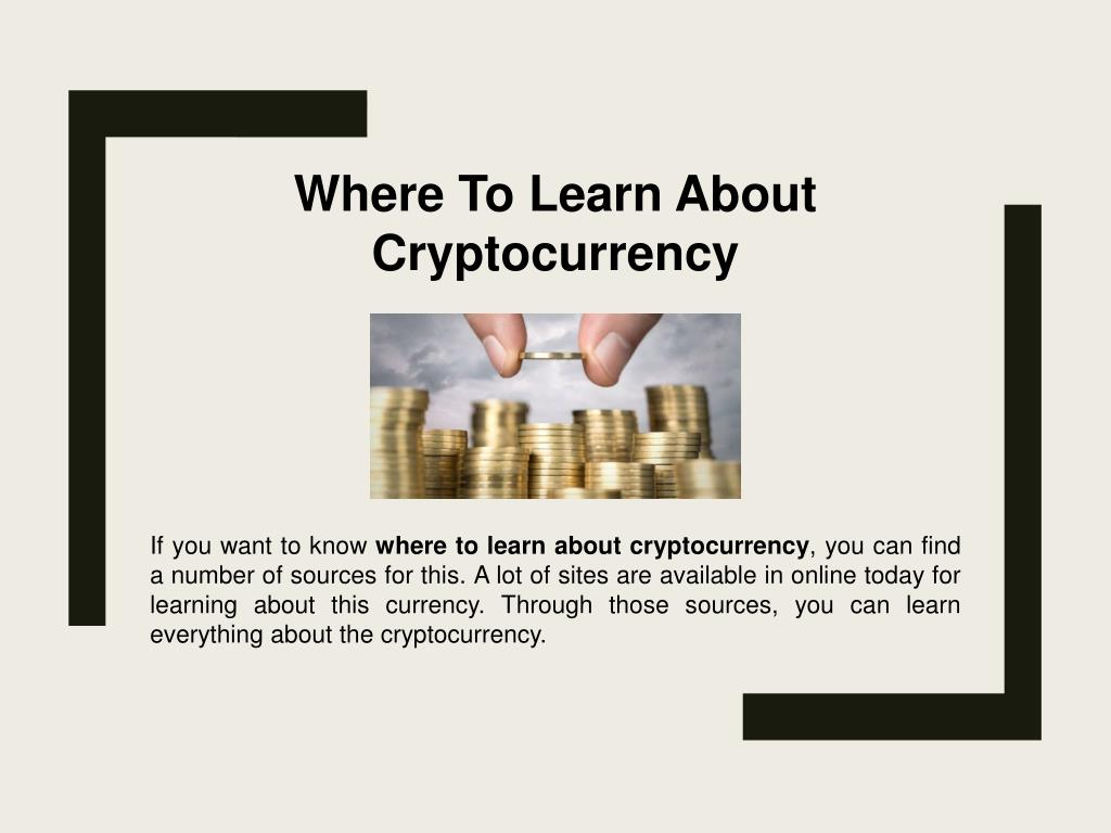 best place to learn about cryptocurrency