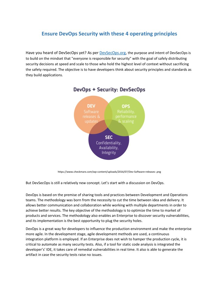 PPT - Ensure DevOps Security with these 4 operating