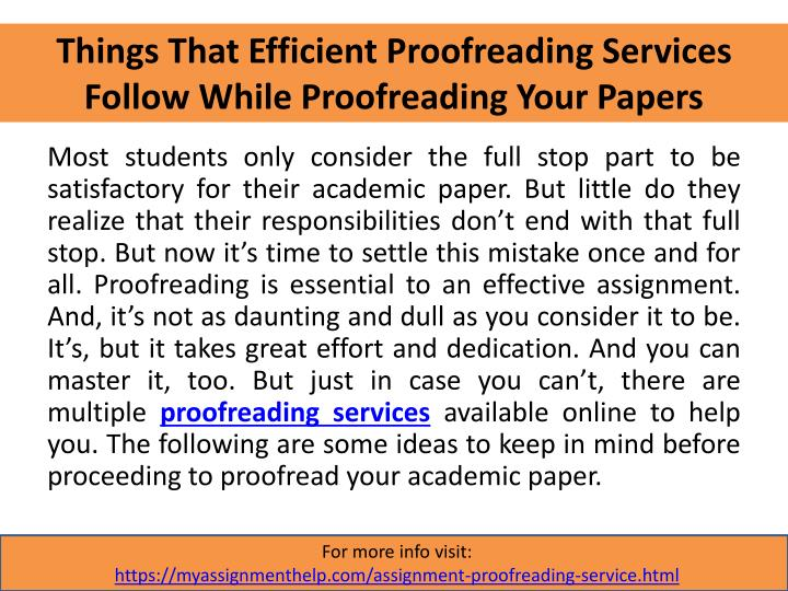 powerpoint proofreading your essay I copy edit and proofread research theses and academic papers, assignments,  essays and presentations to your required style (eg apa 6th, harvard, ieee.