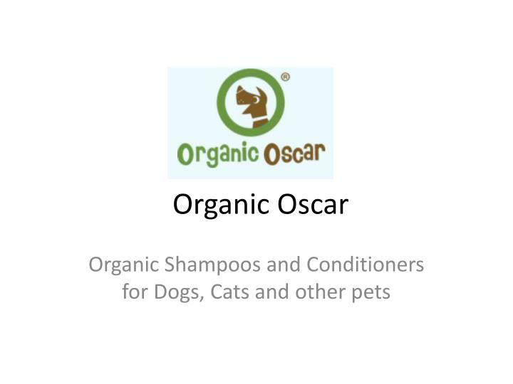 organic shampoos and conditioners for dogs cats and other pets n.