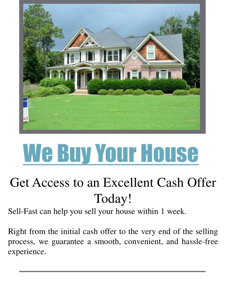 we buy your house n.