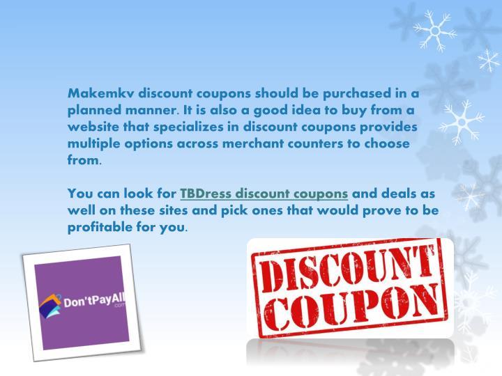Makemkv discount coupon code
