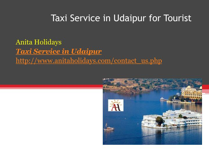taxi service in udaipur for tourist n.